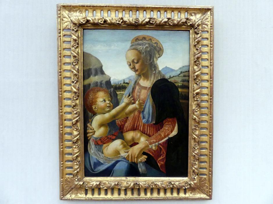 Andrea del Verrocchio: Maria mit dem Kind, Undatiert