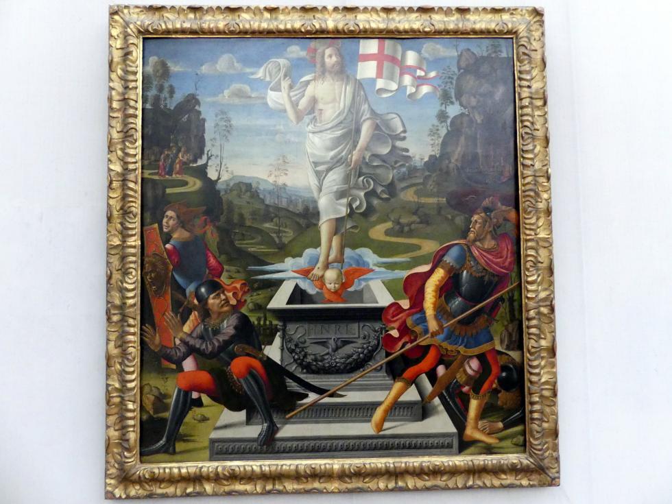 Domenico Ghirlandaio (Werkstatt): Die Auferstehung Christi, Undatiert