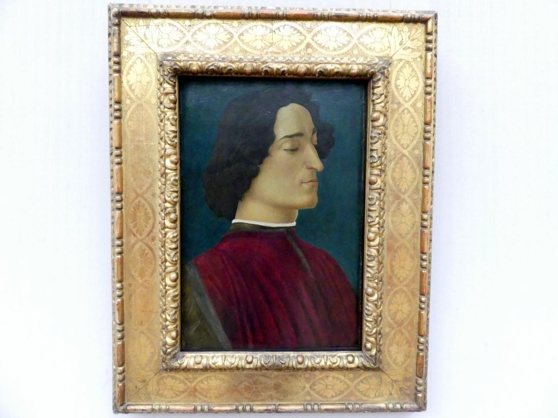 Sandro Botticelli: Giuliano de' Medici (1453-1478), Undatiert