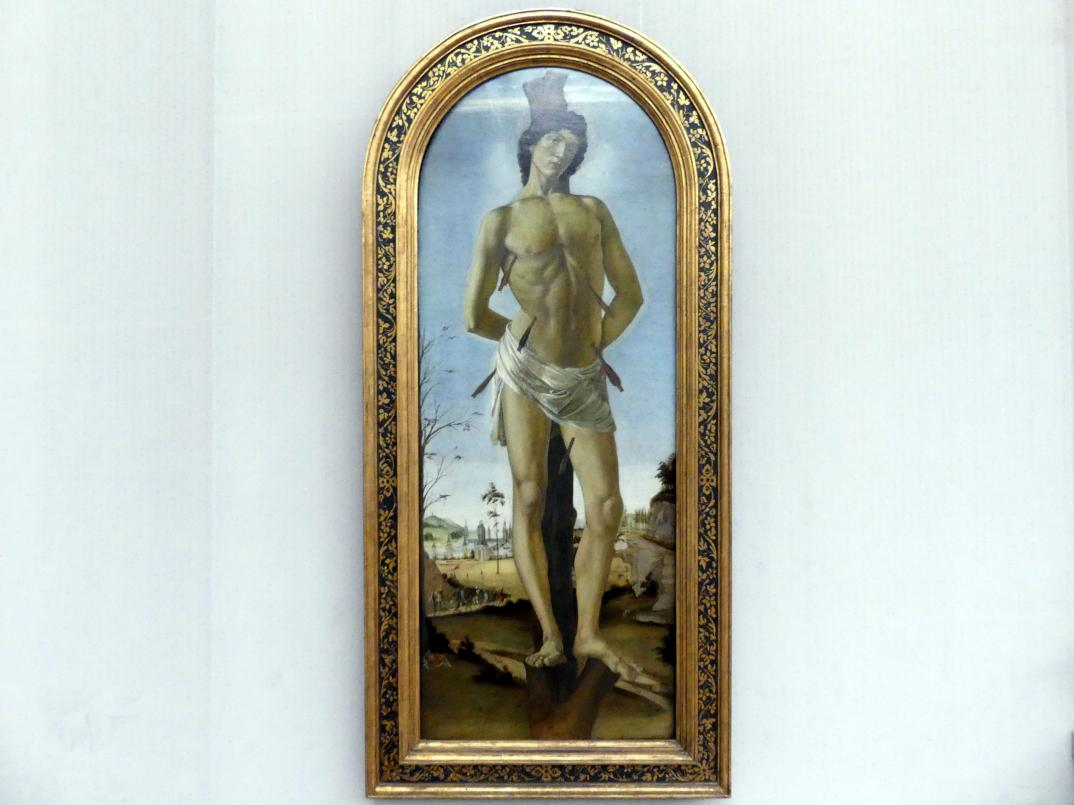Sandro Botticelli: Der hl. Sebastian, 1474