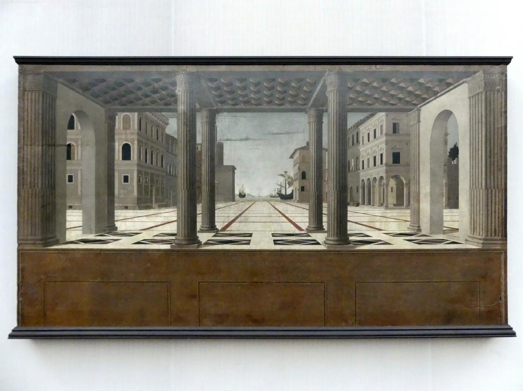 Francesco di Giorgio Martini: Architektonische Vedute, um 1490 - 1500