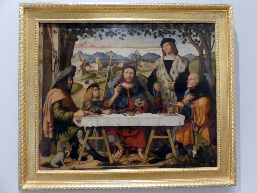 Marco Marziale: Christus in Emmaus, 1507