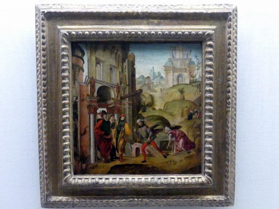 Bernardino Orsi da Collecchio: Atlante, im Wettlauf von Hippomenes besiegt, Um 1485 - 1490