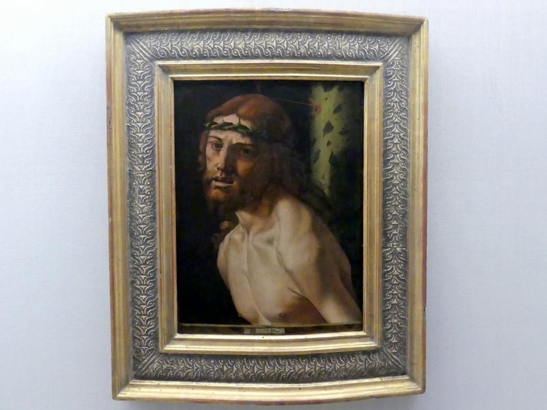 Bartolomeo Montagna: Christus an der Geißelsäule, um 1495 - 1500