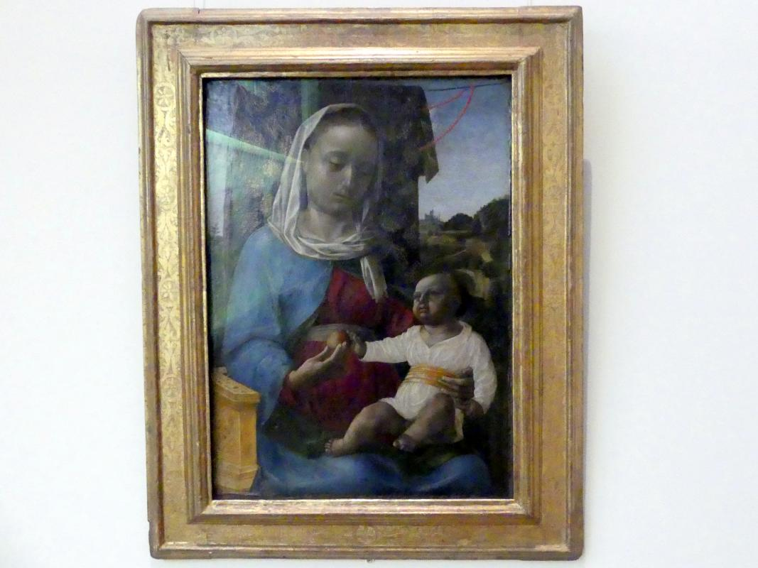 Vincenzo Foppa: Maria mit dem Kind, um 1460 - 1470