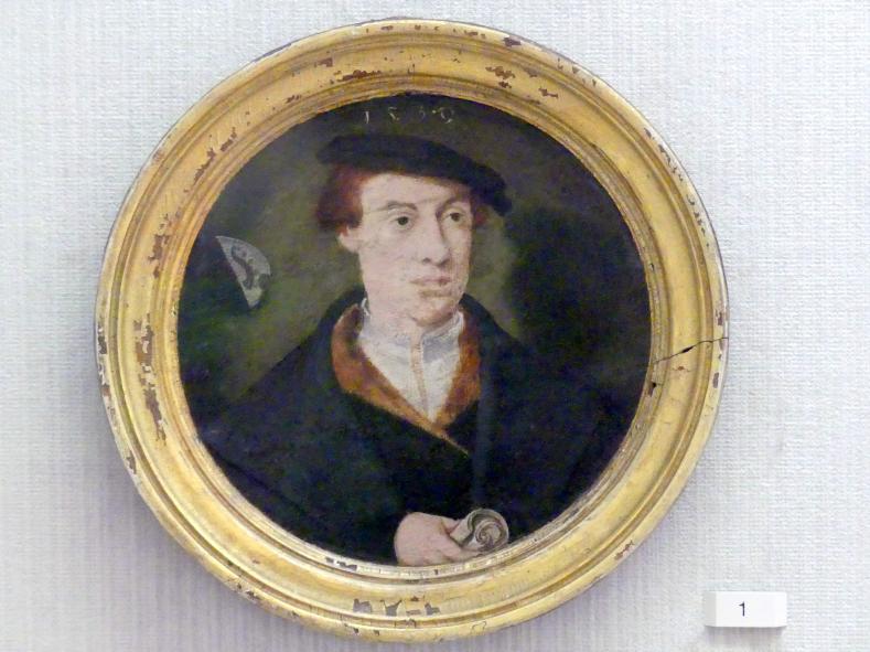 Bartholomäus Bruyn der Ältere: Bildnis eines Mannes, nach 1530