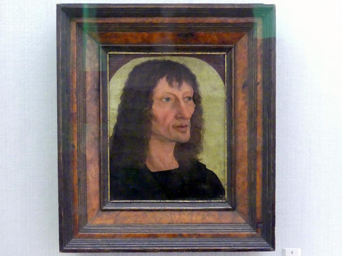 Bernhard Strigel: Bildnis eines Mannes, um 1493 - 1494