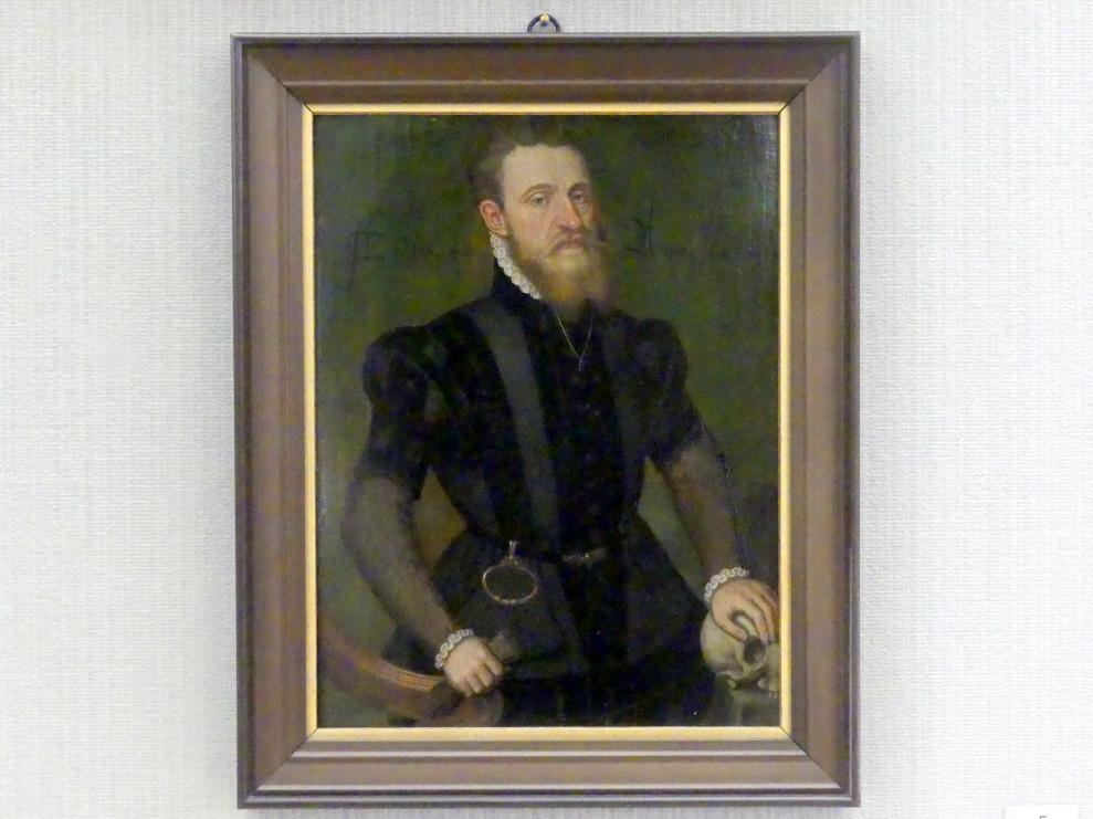 Ludger tom Ring der Jüngere: Bildnis eines Mannes, 1564