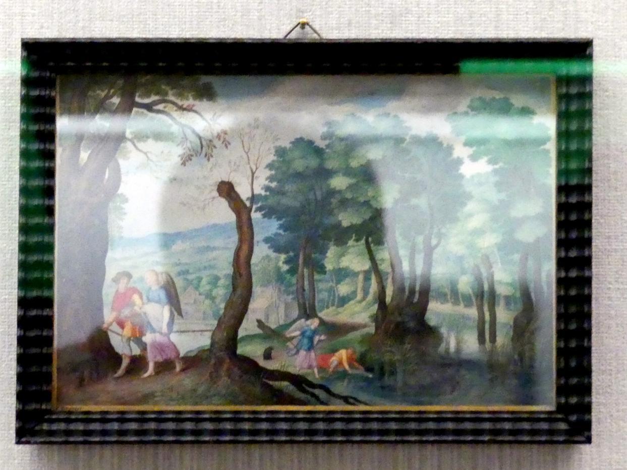 Friedrich Brentel: Zwei Szenen aus der Tobiaslegende, 1639
