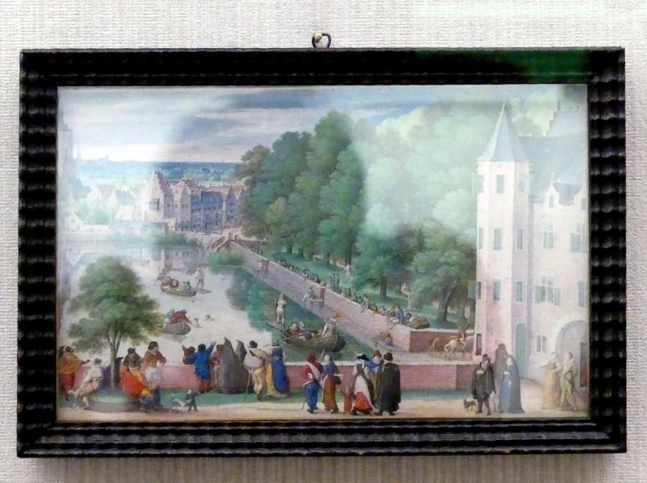Hans Bol: Das Fischerstechen, 1585