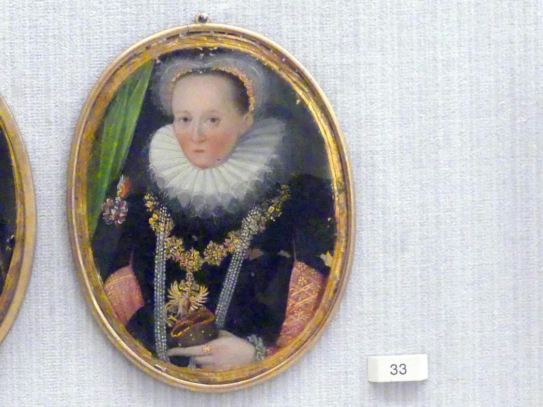 Anna-Maria, geb. Herrin von Kolowrat-Krakowsky, Gemahlin des Georg Kinsky, um 1600
