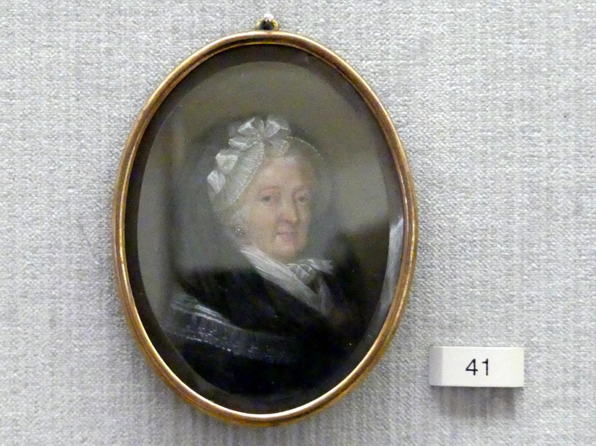 Philippine Charlotte (1716-1801), verwitwete Herzogin von Braunschweig-Wolfenbüttel, nach 1780