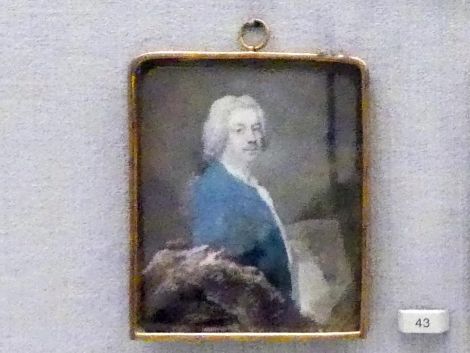 Antoine Pesne: Selbstbildnis, um 1755