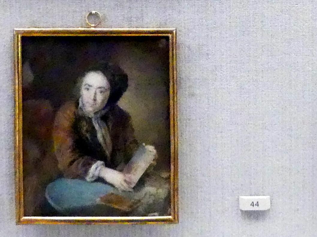 Antoine Pesne: Der Maler und Ingenieur Johann Sigismund Ebert (gestorben 1727), 1717