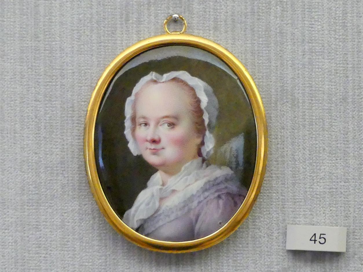 Joseph Brecheisen: Bildnis einer Frau, 1764