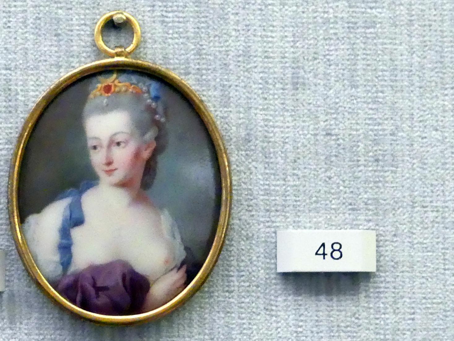 Bildnis einer Dame als Diana, um 1770
