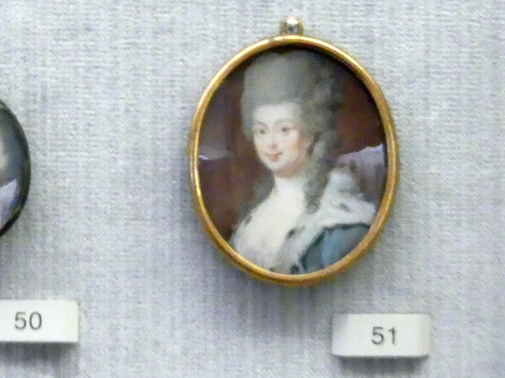 Anton Friedrich König: Friederike Luise (1751-1805) als Kronprinzessin von Preußen, um 1778