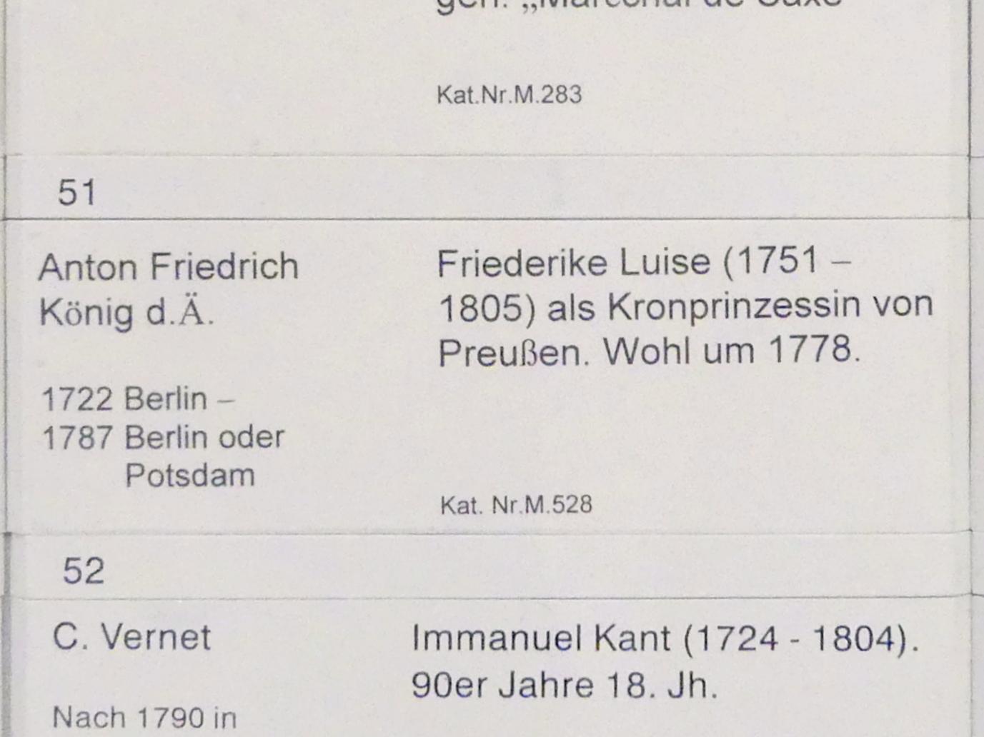 Anton Friedrich König: Friederike Luise (1751-1805) als Kronprinzessin von Preußen, um 1778, Bild 2/2
