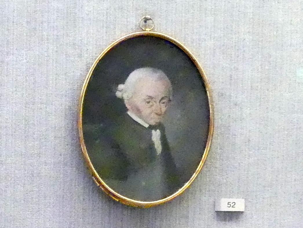 Antoine Charles Horace Vernet (Carle Vernet): Immanuel Kant (1724-1804), um 1790 - 1800