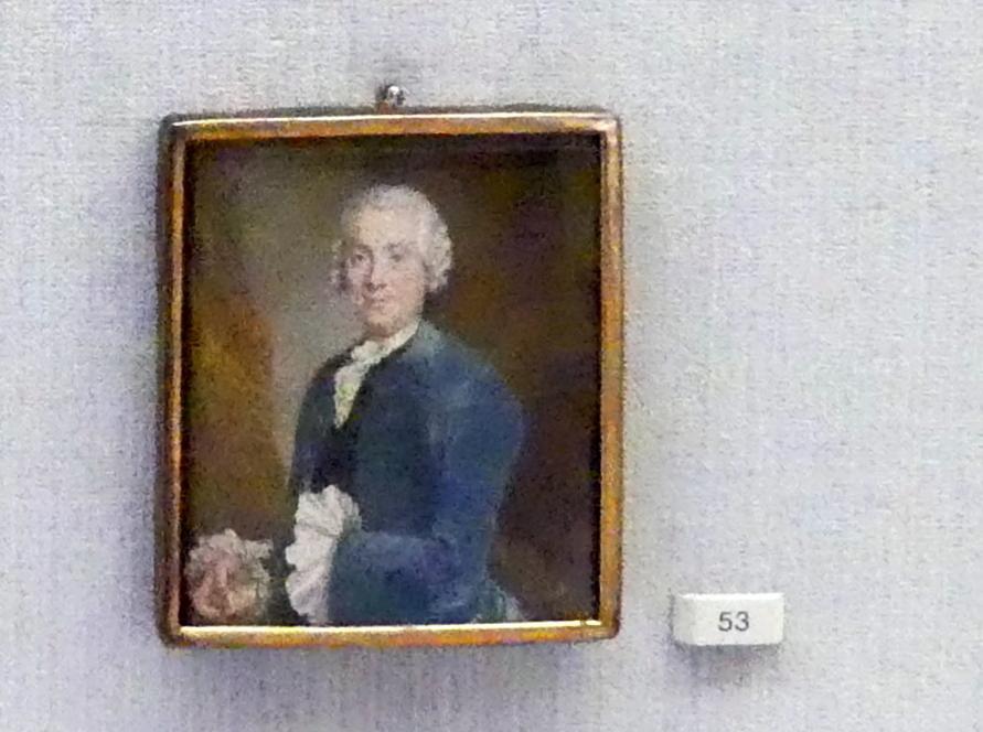 Joachim Martin Falbe: Herrenbildnis, um 1750