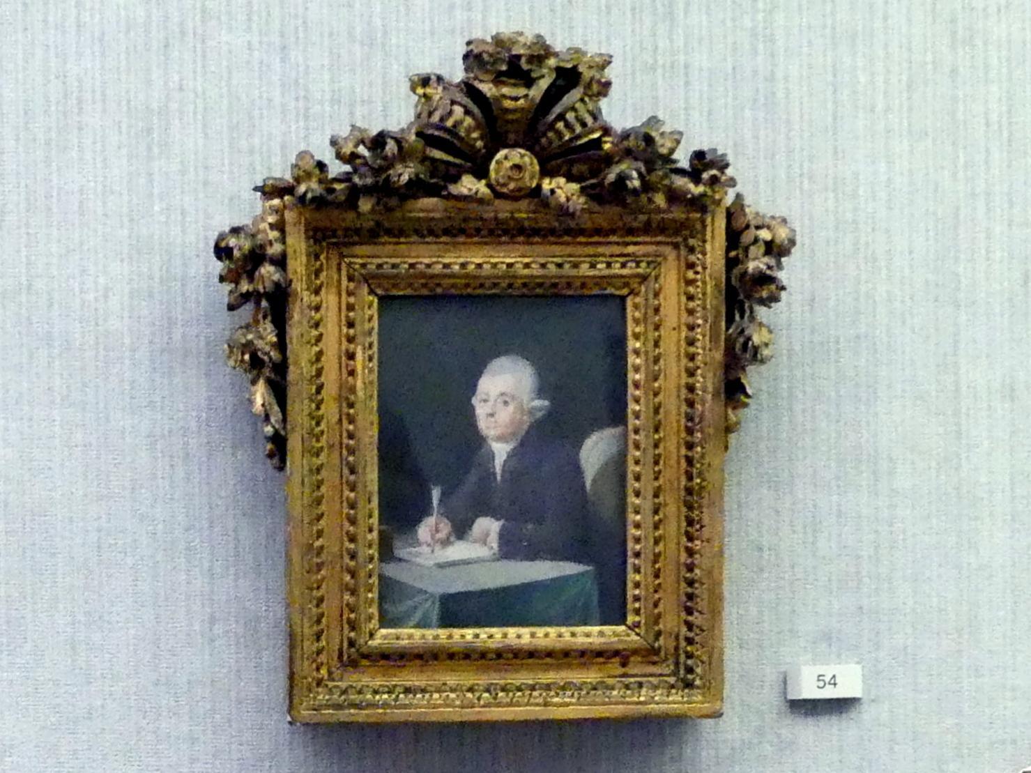 Daniel Nikolaus Chodowiecki: Daniel Gottlob Davisson, 1780