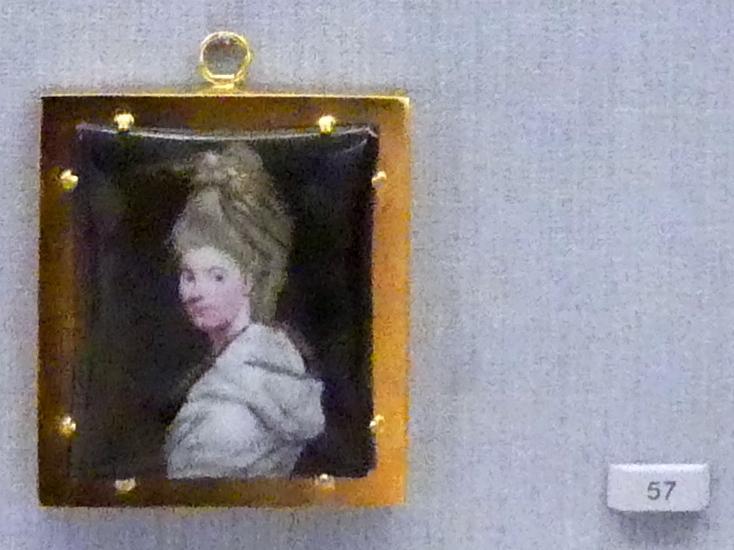 William Russell Birch: Lady Henrietta Antonia Herbert (1758-1830), um 1778