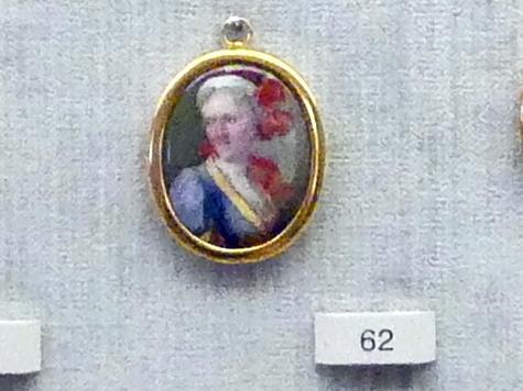 Georg Friedrich Dinglinger: Catharina Barbara, geb. Gutermann (1675-1713), die Gattin des Künstlers, 1705