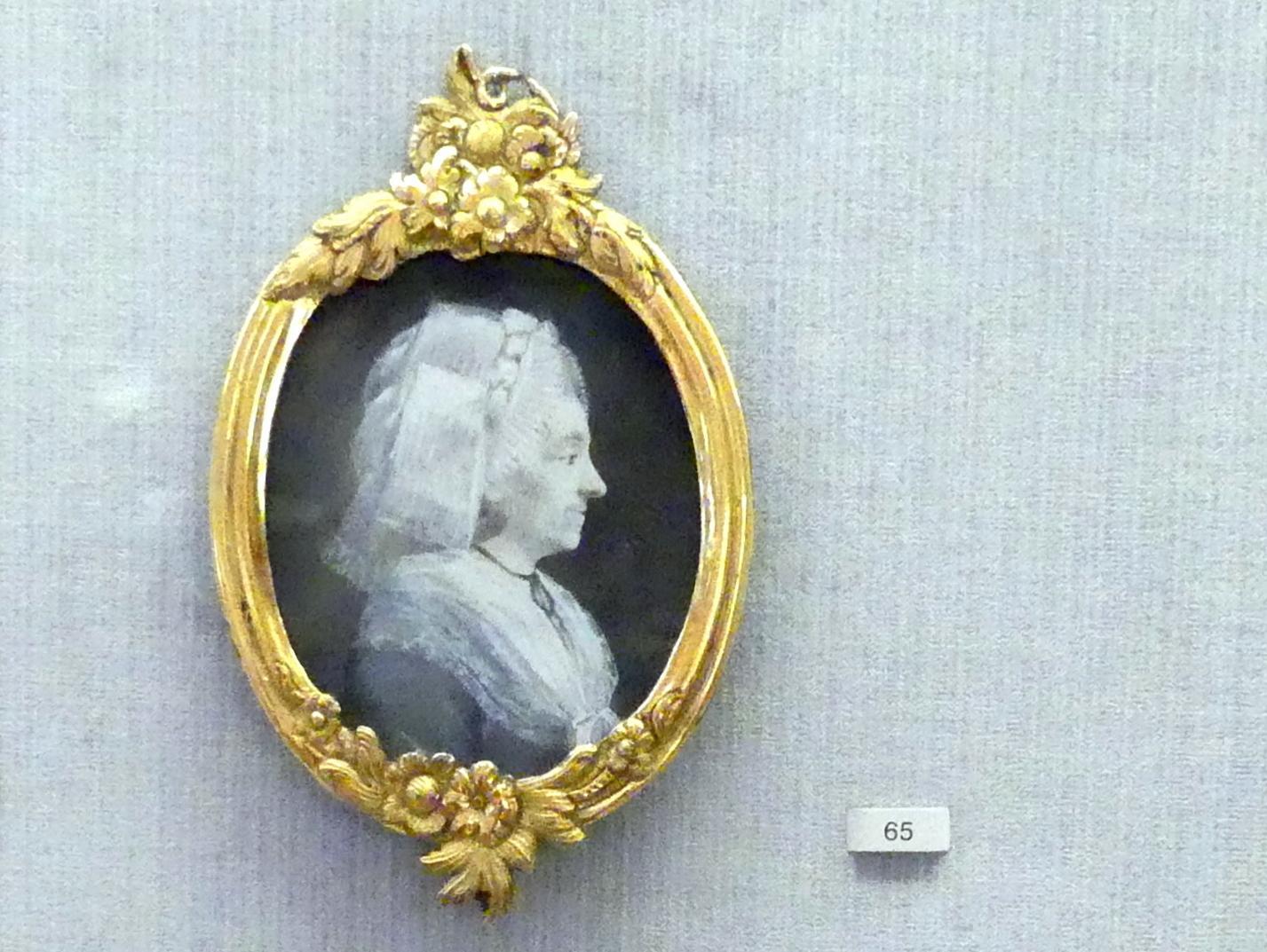 Asmus Jacob Carstens: Bildnis einer alten Dame, 1789 - 1790
