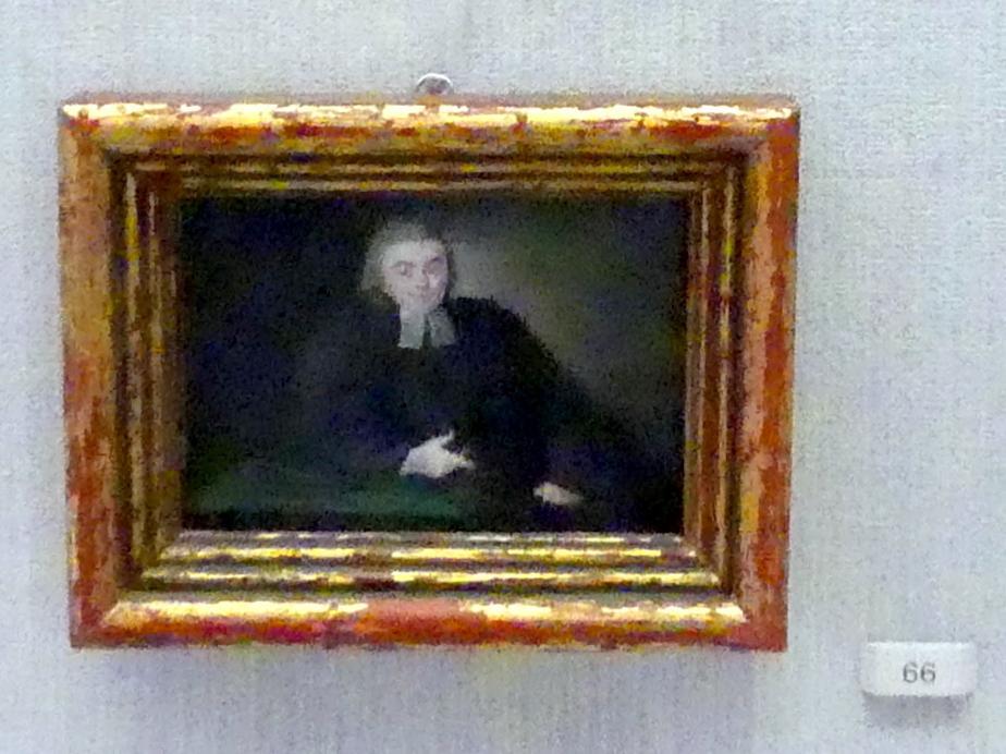 Daniel Nikolaus Chodowiecki: Ludwig Friedrich Ancillon (1740-1814), Prediger an der französischen Kirche in Berlin, 1763