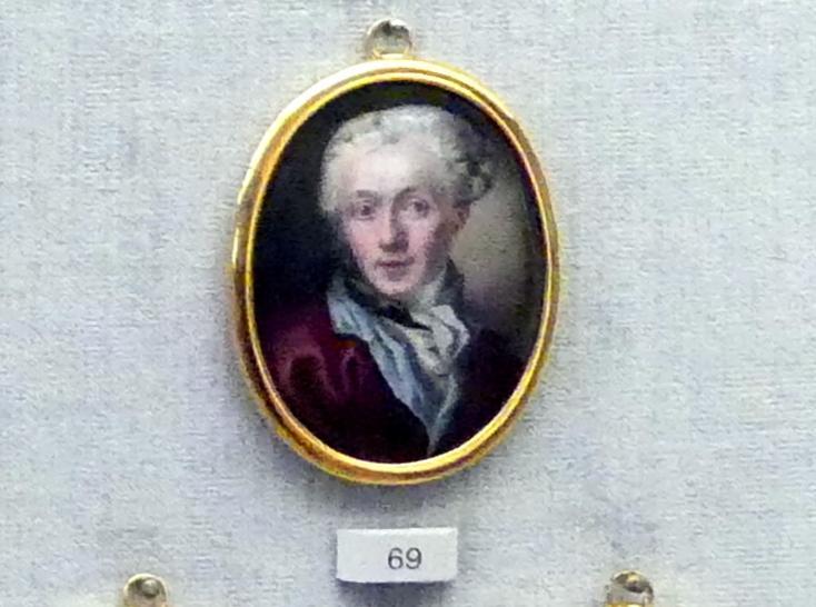 Carl Friedrich Thienpondt: Selbstbildnis, 1761