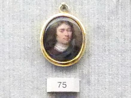 Bildnis eines jungen Mannes, 2. Hälfte 17. Jhd.