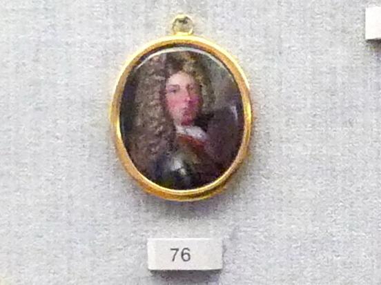 Bildnis eines Mannes in Rüstung, um 1700