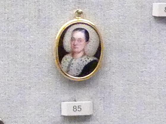 Bildnis einer Frau mit Flitterhaube, um 1660