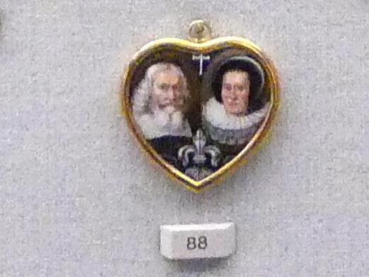 Bildnis eines Ehepaares, 2. Hälfte 17. Jhd.