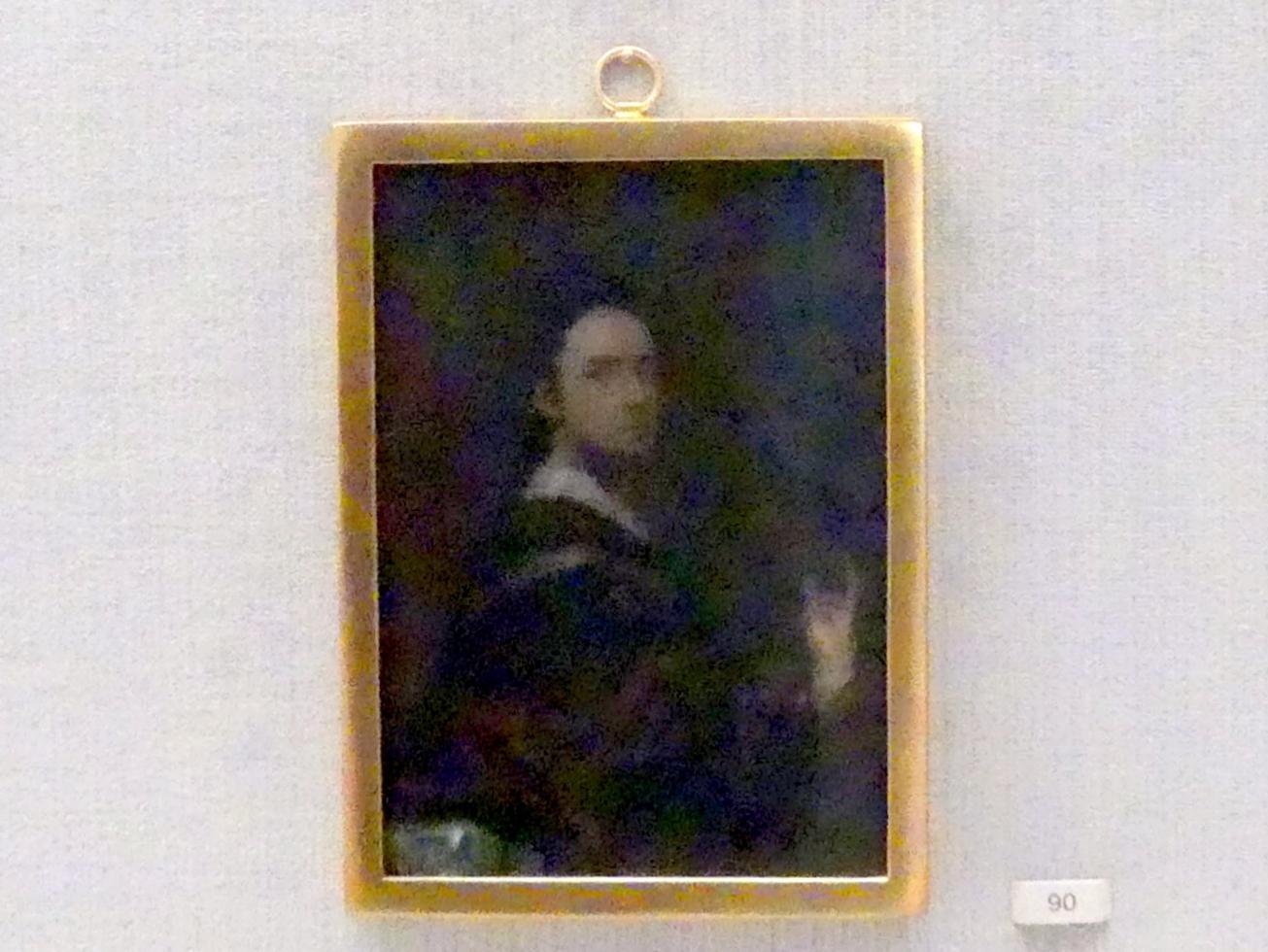 Ismael Mengs: Selbstbildnis, um 1720