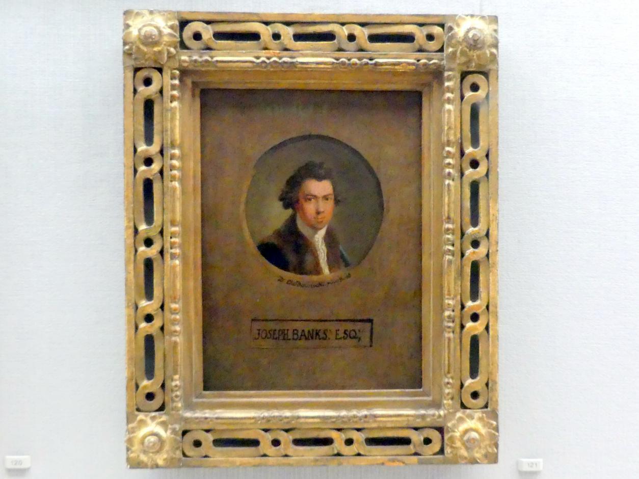 Daniel Nikolaus Chodowiecki: Der Botaniker Joseph Banks (1743-1820), Um 1780