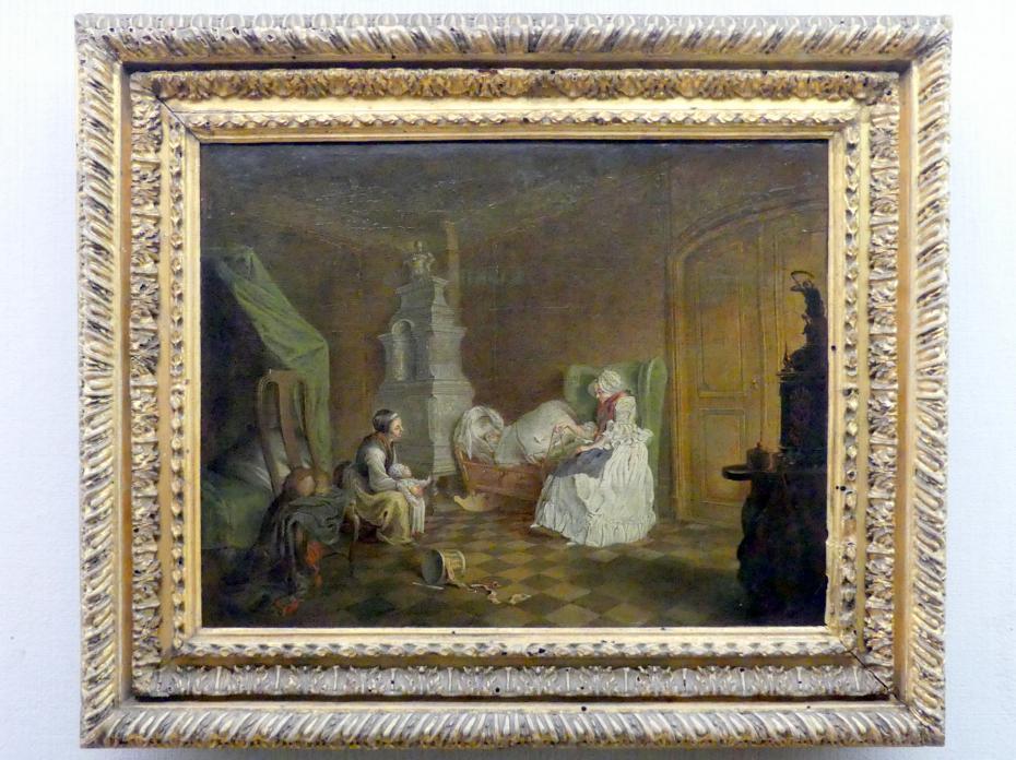 Daniel Nikolaus Chodowiecki: Familienszene, um 1763
