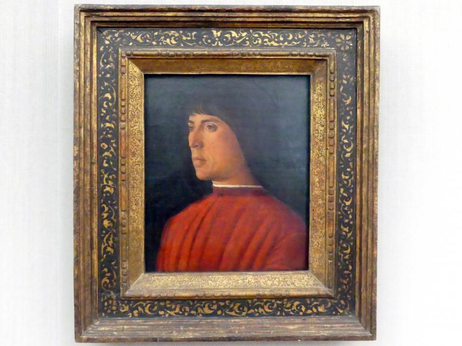 Giovanni Bellini: Bildnis eines jungen Mannes, Undatiert