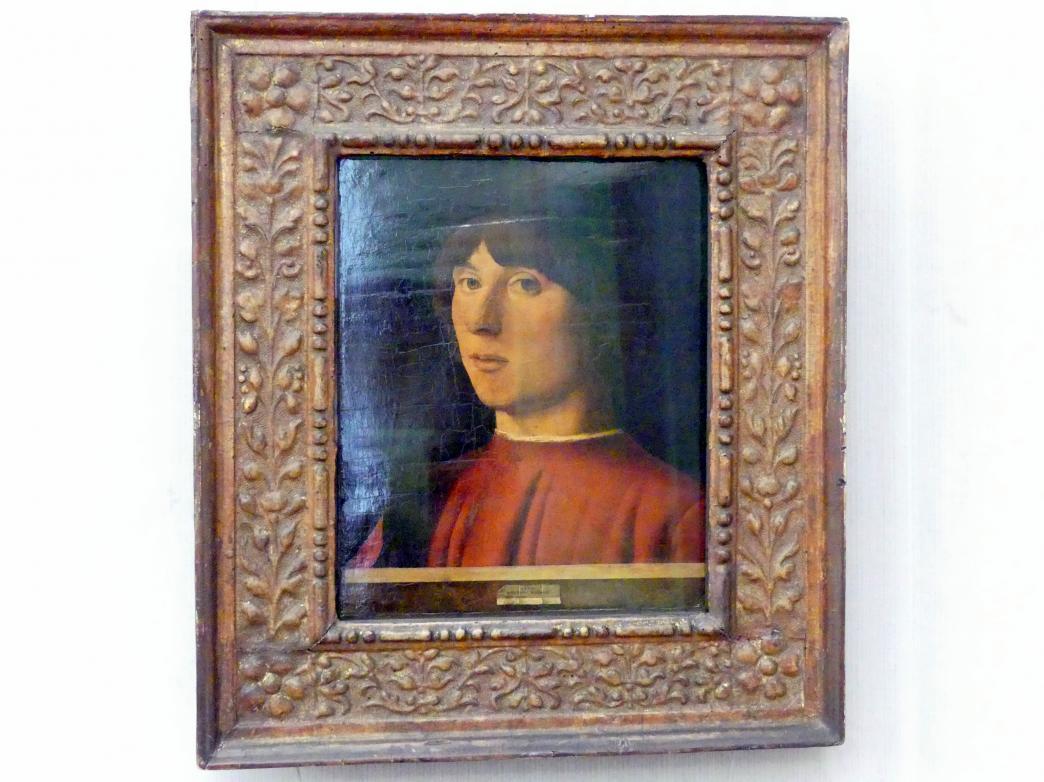 Antonello da Messina: Bildnis eines jungen Mannes, 1478