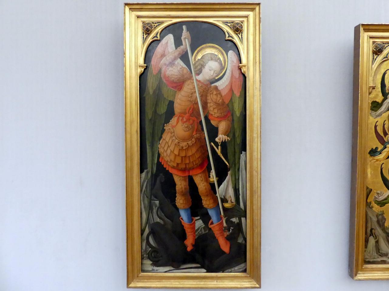 Bartolomeo Vivarini: Der Erzengel Michael mit der Seelenwaage, Undatiert