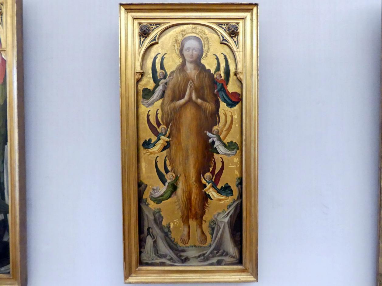 Antonio Vivarini (Antonio da Murano): Die hl. Maria Magdalena, von Engeln emporgetragen, Undatiert