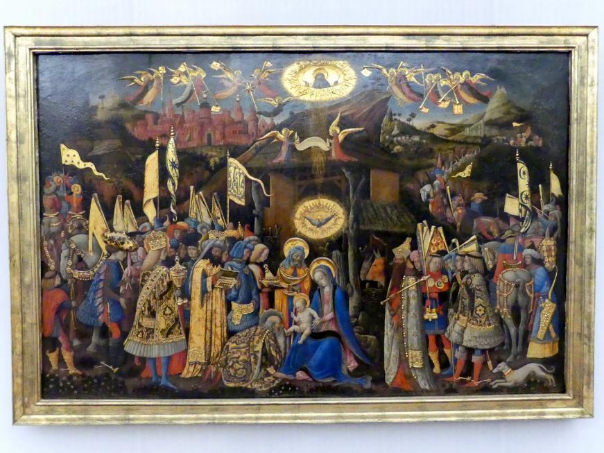 Antonio Vivarini (Antonio da Murano): Die Anbetung der Könige, Undatiert