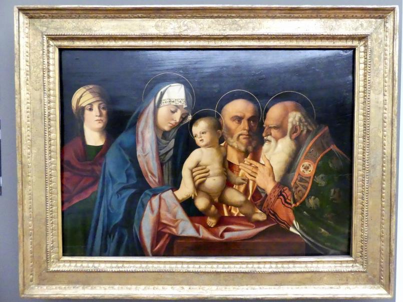 Giovanni Bellini (Werkstatt): Darbringung Christi im Tempel, 1490 - 1500