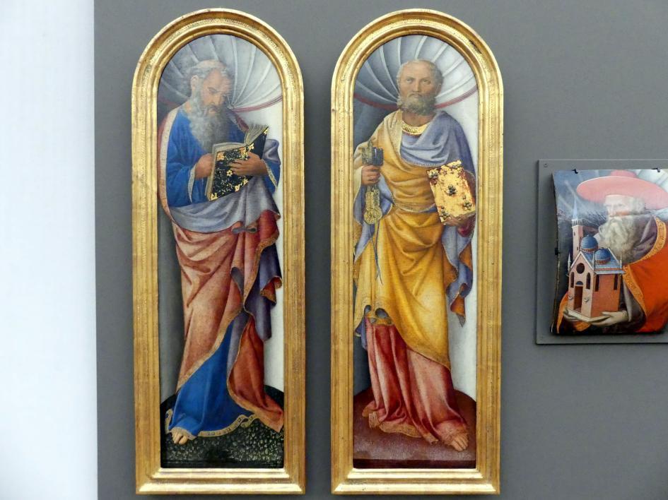 Jacopo Bellini: Johannes der Evangelist und der Apostel Paulus, um 1430 - 1435