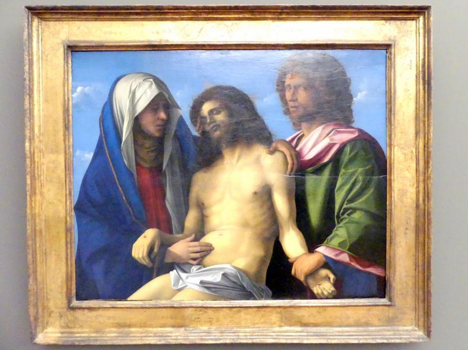 Giovanni Bellini: Die Beweinung Christi, Um 1495