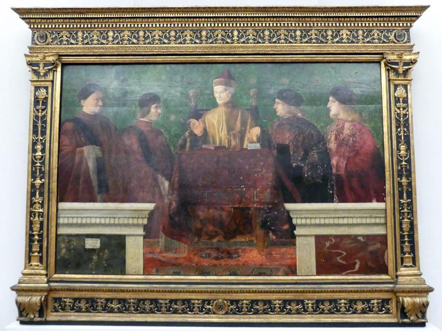 Giovanni Bellini: Der Doge Leonardo Loredan (1438-1521) mit vier Nobili, 1507