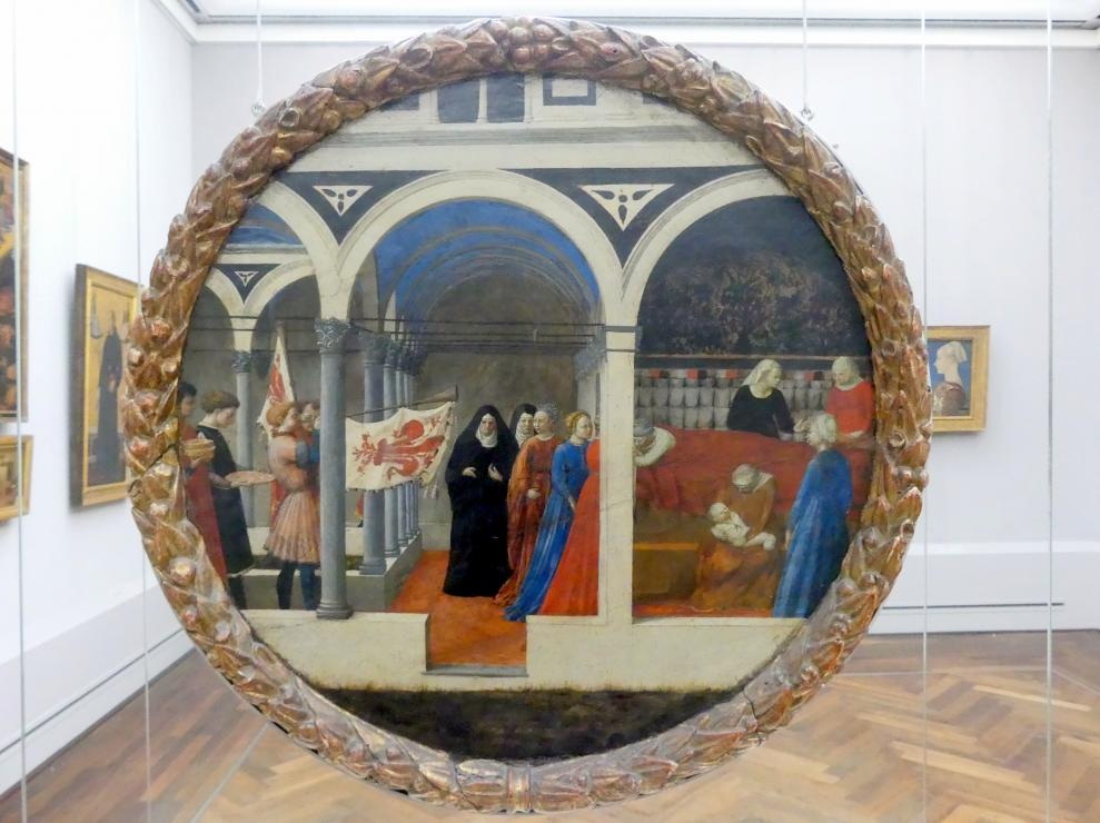Masaccio: Wochenbett einer vornehmen Florentinerin, Undatiert
