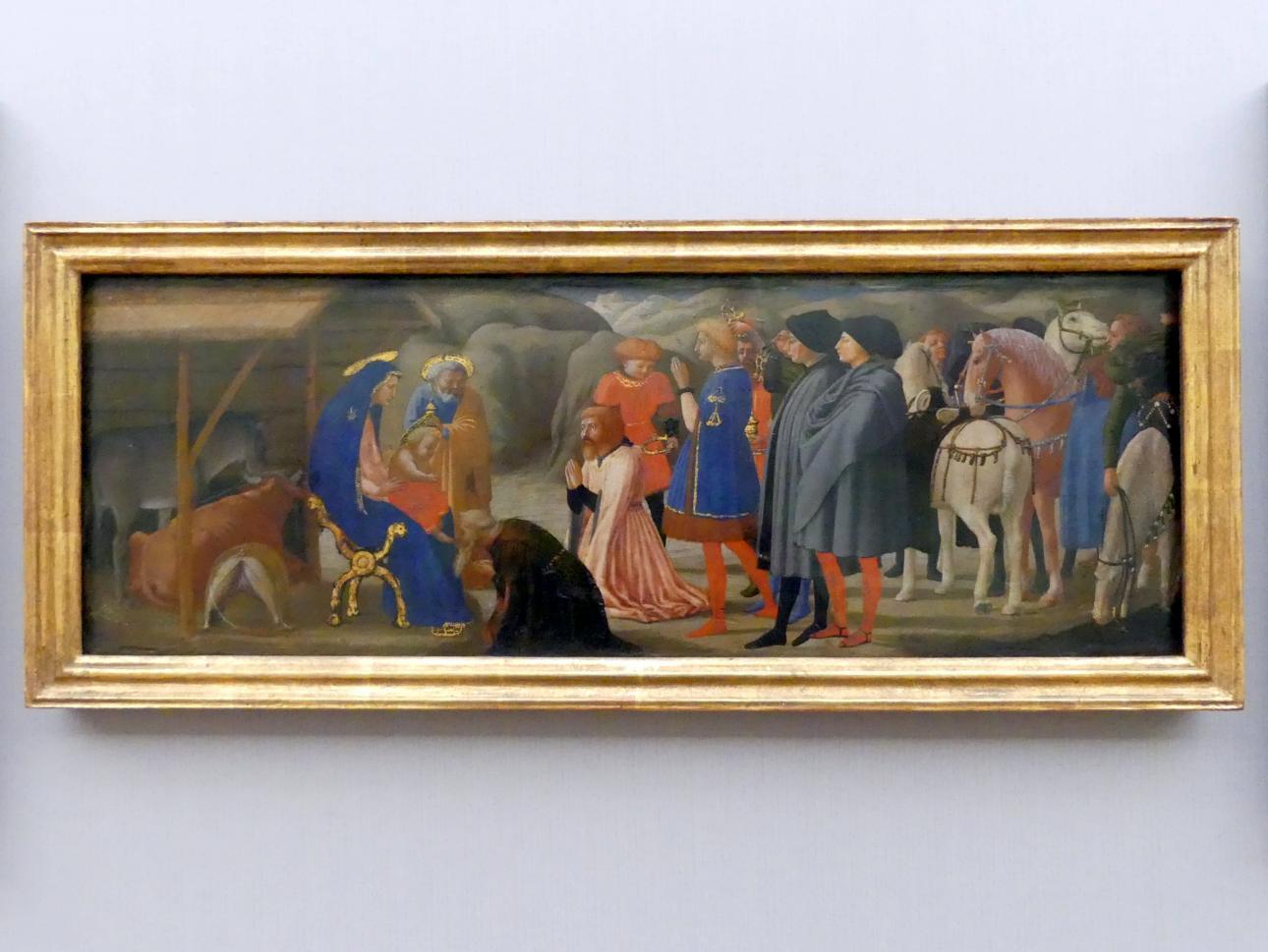 Masaccio: Die Anbetung der Könige, 1426