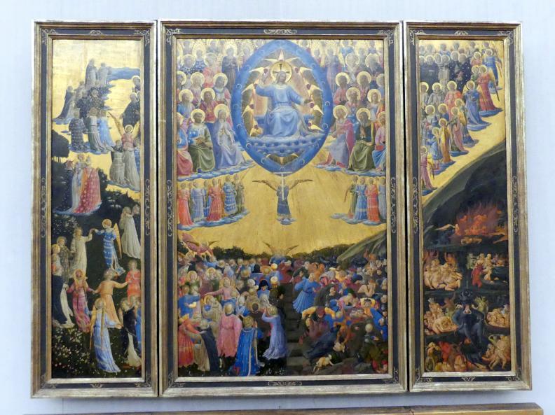 Fra Angelico: Das Jüngste Gericht, Undatiert