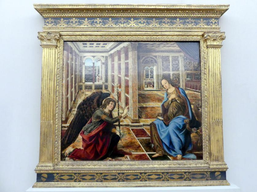 Piero del Pollaiuolo: Die Verkündigung an Maria, Undatiert